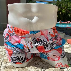 Sunga Shorts Flamingo